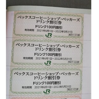 ジェイアール(JR)のJR東日本 割引券二種 5枚(その他)