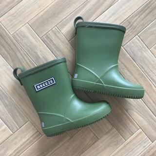 プティマイン(petit main)の長靴 グリーン 14.0cm(長靴/レインシューズ)