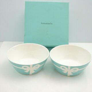 ティファニー(Tiffany & Co.)の【大人気】ティファニー ボール リボン柄(食器)
