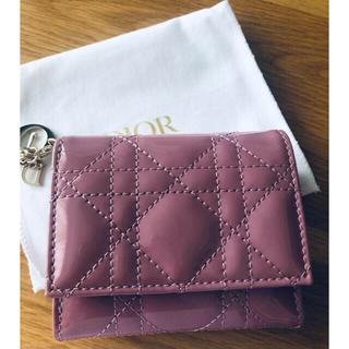 ディオール(Dior)のレディーディオール ロータスウォレット カナージュ 財布 (財布)