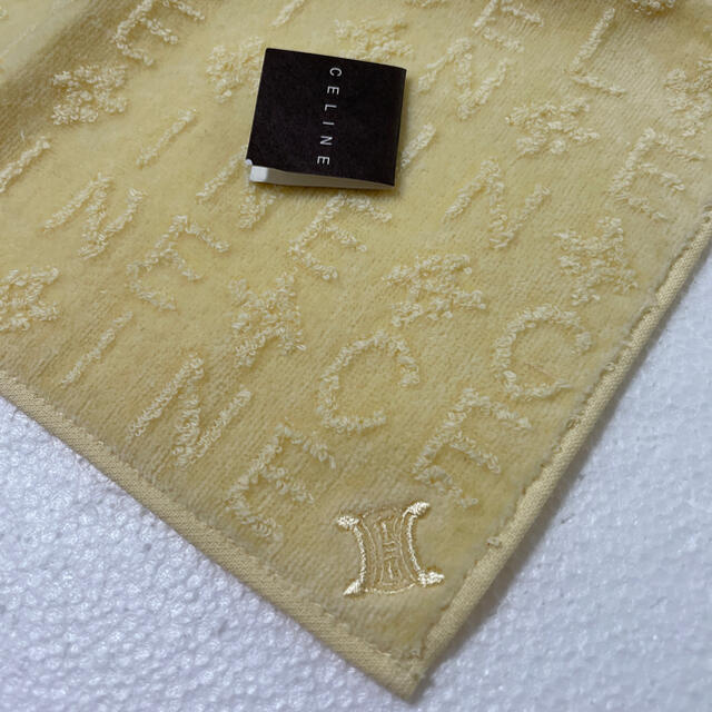 celine(セリーヌ)の⭐️お値下げ⭐️新品⭐️セリーヌ タオルハンカチ レディースのファッション小物(ハンカチ)の商品写真