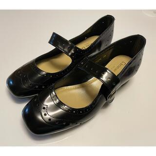クリスチャンディオール(Christian Dior)の試着のみ未使用 DIOR ディオール エナメル パンプス  サイズ38D(ハイヒール/パンプス)