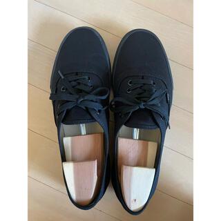 ヴァンズ(VANS)の【送料無料】VANS ヴァンズ AUTHENTIC BLACK 27.5cm(スニーカー)