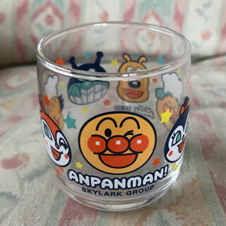 アンパンマン(アンパンマン)のアンパンマン☆ガラスコップ(マグカップ)
