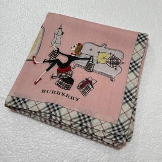 バーバリー(BURBERRY)の⭐️used⭐️バーバリー ハンカチ 女の子柄(ハンカチ)