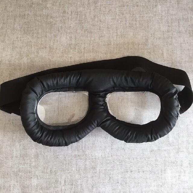 ブルー色 折り畳めるゴーグル ヘルメットの装飾品 コスプレ ゴーグル エンタメ/ホビーのコスプレ(小道具)の商品写真