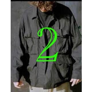 コモリ(COMOLI)のcomoli 21ss リネンbduジャケット 新品タグ付きサイズ2(その他)