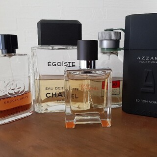 エルメス(Hermes)のHERMES CHANEL GUCCI  AZZARO BOSS 香水(香水(男性用))