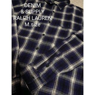 Denim & Supply Ralph Lauren - DENIM & SUPPLY RALPH LAUREN  チェック ネルシャツ