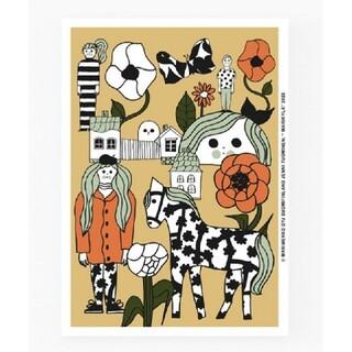 マリメッコ(marimekko)の【新品】marimekko 70周年記念 MARIKYLA マリキュラ ポスター(その他)