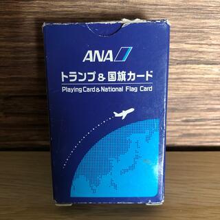エーエヌエー(ゼンニッポンクウユ)(ANA(全日本空輸))の英語学習 ANA トランプ&国旗カード(トランプ/UNO)