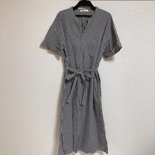 ショコラフィネローブ(chocol raffine robe)のchocol raffine robe  ギンガムチェックワンピース(ひざ丈ワンピース)