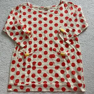 グローバルワーク キッズ XL 120 130 七分袖 Tシャツ カットソー