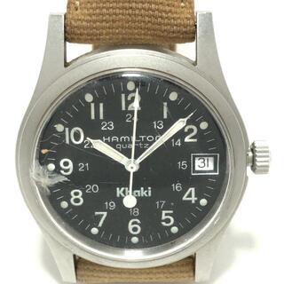 Hamilton - ハミルトン 腕時計 - 9797 ボーイズ 黒