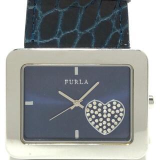 フルラ(Furla)のフルラ 腕時計 - レディース ネイビー(腕時計)