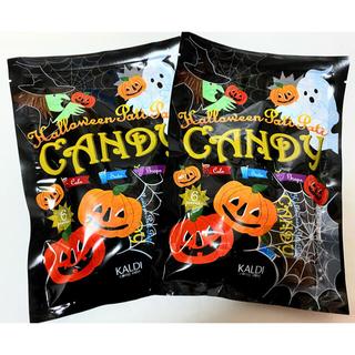KALDI - 【Halloween 】KALDI  ハロウィン パチパチキャンディ 2袋セット