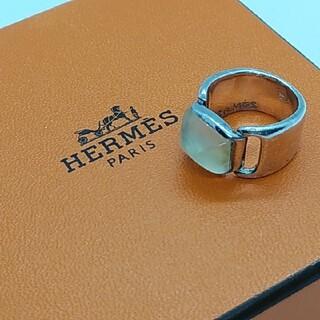 Hermes - HERMES エルメス ヴィンテージ ストーンリング 指輪 ホールマーク