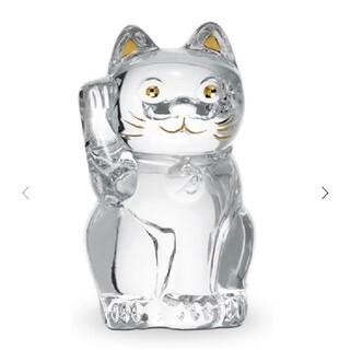 Baccarat - 【新品未使用】 バカラ 招き猫 クリア Sサイズ まねき猫 まねきねこ 招きねこ