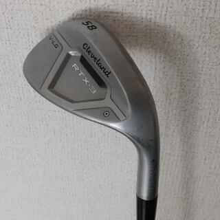 クリーブランドゴルフ(Cleveland Golf)のクリーブランド RTX-3キャビティV-LG ウェッジ 58度 NS (クラブ)