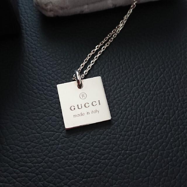 Gucci(グッチ)のGUCCI/ネックレス/メンズ/ メンズのアクセサリー(ネックレス)の商品写真