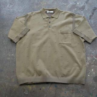コモリ(COMOLI)の20SS Kumpu KnitPolo(KHAKI BEIGE) yashiki(ポロシャツ)