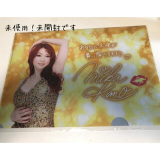 DHC - 未使用、未開封 叶美香さんDHC限定ファイル