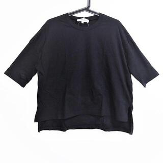 エンフォルド(ENFOLD)のエンフォルド 半袖Tシャツ サイズ38 M - 黒(Tシャツ(半袖/袖なし))