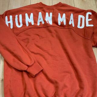 A BATHING APE - ヒューマンメイド スウェット トレーナー ape HUMANMADE