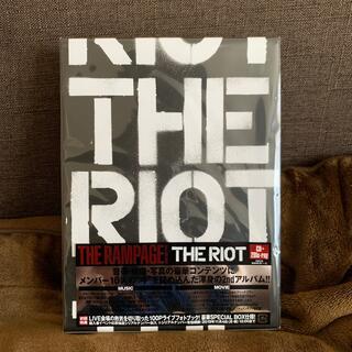 ザランページ(THE RAMPAGE)のTHE RIOT(Blu-ray Disc2枚付)(ポップス/ロック(邦楽))