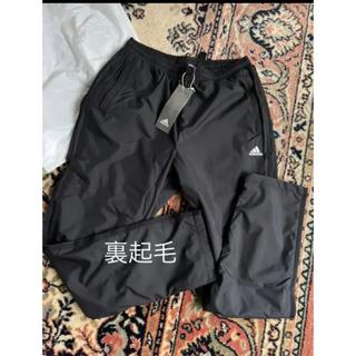 アディダス(adidas)のアディダス レディース裏起毛ウィンドパンツ 黒 M(ウェア)