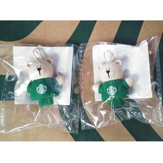 スターバックスコーヒー(Starbucks Coffee)の☆2点☆ スタバ ドリンクホールキャップ リユーザブルカップ専用 ベアリスタ(その他)