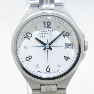 マーガレットハウエル(MARGARET HOWELL)のマーガレットハウエル 腕時計美品  - idea(腕時計)