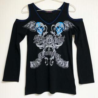 アルゴンキン(ALGONQUINS)のALGONQUINS アルゴンキン トップス ロンT 長袖 変形 Tシャツ(Tシャツ(長袖/七分))