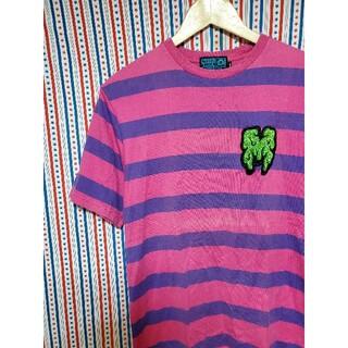 マジカルモッシュミスフィッツ(MAGICAL MOSH MISFITS)のMAGICAL MOSH MISFITS マモミ どろどろ ボーダー T(Tシャツ/カットソー(半袖/袖なし))