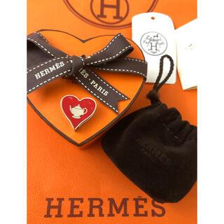 エルメス(Hermes)の新品 エルメス ツイリーリング ティータイム バーキン ケリー のアクセントに(チャーム)