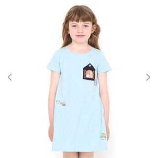 Design Tshirts Store graniph - すみっこぐらし ワンピース グラニフ  半袖 110