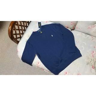 ラルフローレン(Ralph Lauren)の新品☆ラルフローレン トレーナー 紺 140(Tシャツ/カットソー)