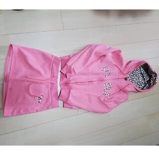ヴィクトリアズシークレット(Victoria's Secret)のPINK PINKヒョウ柄セットアップ(ルームウェア)