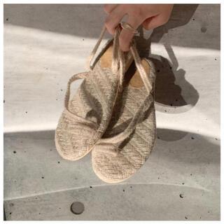 カスタネ(Kastane)のlawgy       tongu sandals(サンダル)