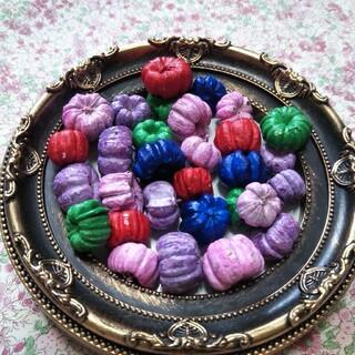 まるでお菓子♡プッカポッド5色  30個(各種パーツ)