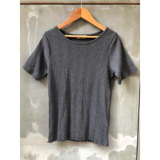 SM2 - サマンサモスモス リブ Tシャツ