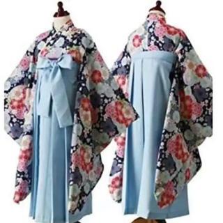 キャサリンコテージ(Catherine Cottage)のキャサリンコテージ 袴セット(髪飾り付き)小学生 160(和服/着物)
