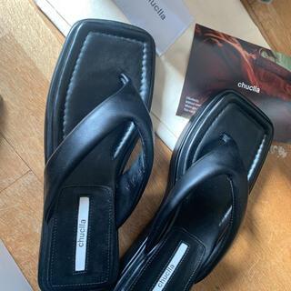 エモダ(EMODA)の【chuclla2021/SS】volume sole thong sandal(サンダル)