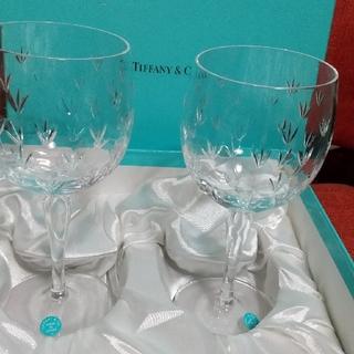 ティファニー(Tiffany & Co.)のティファニー、ワイングラス、ペア(グラス/カップ)