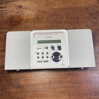 コイズミ(KOIZUMI)のコイズミ成器 CDプレーヤー。置き、壁掛け両用。(ポータブルプレーヤー)
