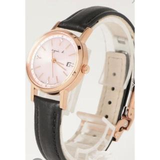 アニエス・ベー ピンクゴールド 腕時計