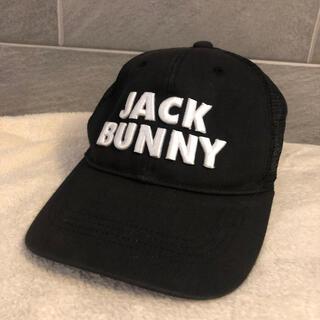 パーリーゲイツ(PEARLY GATES)の使用感あり激安 JACK BUNNY 帽子 ゴルフ キャップ ジャックバニー(キャップ)