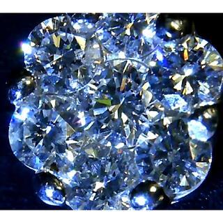 良品/天然ダイヤモンドネックレス7石/0.2ct/K10/10金ホワイトゴールド(ネックレス)
