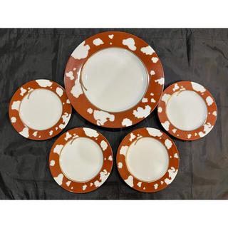 シセイドウ(SHISEIDO (資生堂))の■アンジェラカミングス■大皿1枚と小皿4枚セット■(食器)