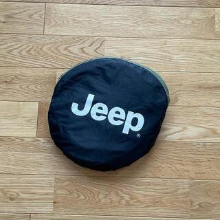 ジープ(Jeep)の【純正】Jeep ジープ オフィシャル ラングラー フロントサンシェード(車内アクセサリ)